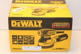 BOXED DEEWALT DWE6423 RANDOM ORBITAL SANDER RRP £99.98Condition ReportAppraisal Available on