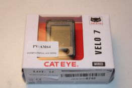 BOXED CAT EYE VELO 7 WIRED BICYCLE COMPUTER MODEL: CC-VL520 RRP £18.99Condition ReportAppraisal