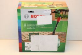 BOXED BOSCH AQUASURF 250 PATIO CLEANERCondition ReportAppraisal Available on Request- All Items