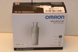 BOXED OMRON MICROAIR U100 MESH NEBULIZER Condition ReportAppraisal Available on Request- All Items
