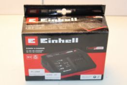 BOXED EINHELL POWER X-CHARGER PXC 18V CHARGER Condition ReportAppraisal Available on Request- All