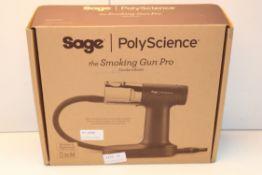 BOXED SAGE POLYSCIENCE THE SMOKING GUN PROSMOKE INFUSER RRP £119.00Condition ReportAppraisal