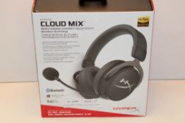 BOXED HYPERX CLOUD MIX WIRED GAMING HEADSET BLUETOOTH RRP £179.99Condition ReportAppraisal Available