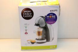 BOXED KRUPS NESCAFE DOLCE GUSTO MINI ME POD COFFEE MACHINE RRP £52.00Condition ReportAppraisal