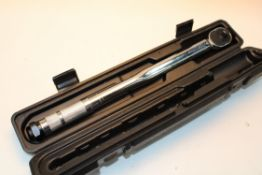 UNBOXED WITH CASE AMAZON BASICS DRIVE CLICK TORQUE WRENCH Condition ReportAppraisal Available on