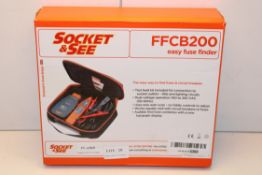 BOXED SOCKET & SEE FFCB200 EASY FUSE FINDER Condition ReportAppraisal Available on Request- All