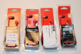 4X BOXED SEALED SKULL CANDY EFFORTLESS SOUND EARPHONESCondition ReportAppraisal Available on