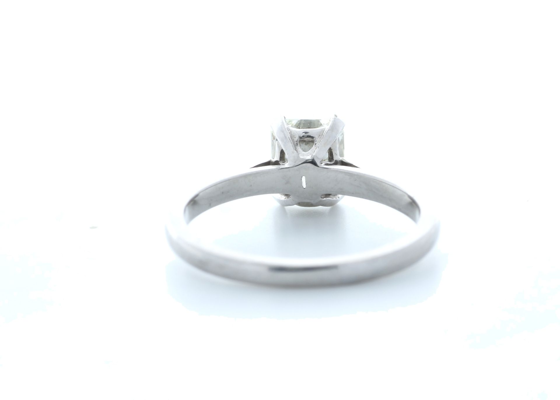 18ct White Gold Radiant Cut Diamond Ring 1.23 (1.08) Carats - Valued by IDI £19,500.00 - 18ct - Image 3 of 5