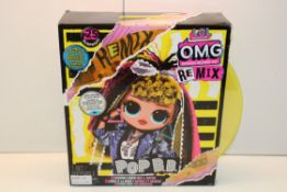 BOXED L.O.L. SURPRISE O.M.G. RE MIX POP B.B RRP £38.62Condition ReportAppraisal Available on