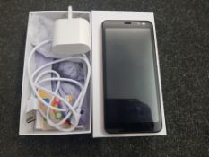 BOXED LCIEA MOBILE PHONE (DOES NOT POWER ON) RRP £80Condition ReportDOES NOT POWER ON