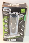 BOXED WAHL AQUA BLADE 20-IN-1 MULTIGROOMER RRP £99.00Condition ReportAppraisal Available on Request-
