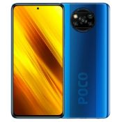 BOXED POCO X3 NFC SMARTPHONE IN BLUE RRP £199Condition ReportPOWERS ON