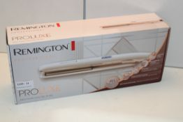 BOXED REMINGTON PROFESSIONAL PROLUXE STRAIGHTENERS MODEL NO. S9100 RRP £59.99Condition