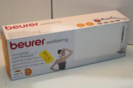 BOXED BEURER WELLBEING INFRARED MASSAGER MODEL: MG40 RRP £34.99Condition ReportAppraisal Available