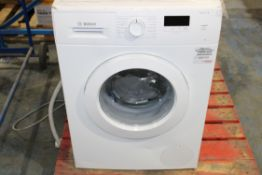 BOSCH SERIE 2 7KG WASHING MACHINE WHITE RRP £329.00Condition ReportAppraisal Available on Request-