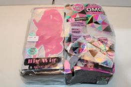 BOXED BIG WIG & MADAME QUEEN L.O.L. SURPRISE Condition ReportAppraisal Available on Request- All