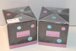 2X BOXED CURIOUS BRITNEY SPEARS EAU DE PARFUM SPRAY 50ML Condition ReportAppraisal Available on