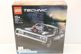 BOXED LEGO TECHNIC FAST & FURIOUS DOM'S DODGE CHARGER RRP £60.99Condition ReportAppraisal