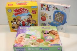 3X BOXED ASSORTED TOYS (IMAGE DEPICTS STOCK)Condition ReportAppraisal Available on Request- All