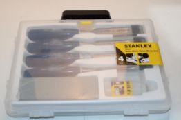 BOXED STANLEY 5002 4PIECE CHISEL SET Condition ReportAppraisal Available on Request- All Items are