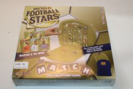 BOXED WORLD FOOTBALL STARS TOP TRUMP MATCH THE CRAZY CUBE GAME Condition ReportAppraisal Available