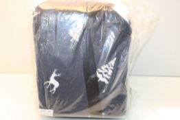 BAGGED SLEEPDOWN COSY FEEL DUVET SET NAVY DOUBLE RRP £15.99Condition ReportAppraisal Available on