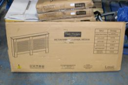 BOXED VIDA DESIGNS MILTON RADIATOR COVER MEDIUM WHITE Condition ReportAppraisal Available on