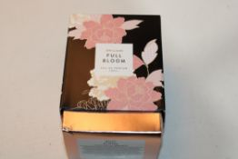 BOXED JDWILLIAMS FULL BLOOM EAU DE PARFUM 100MLCondition ReportAppraisal Available on Request- All
