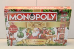 BOXED MONOPOLY LIMITED EDITION CHRISTMAS EDITION Condition ReportAppraisal Available on Request- All