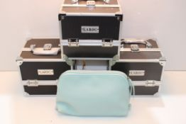 4X ASSORTED MAKE-UP/JEWELLERY BOX STORESCondition ReportAppraisal Available on Request- All Items