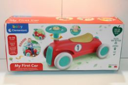 BOXED BABY CLEMENTONI 'MY FIRST CAR'Condition ReportAppraisal Available on Request- All Items are