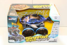 BOXED SUPER WALKER SPRINT EVO STUNT R/C AMPHIBIOUSCondition ReportAppraisal Available on Request-