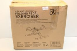 BOXED 66FIT ARM AND LEG DIGITAL FOLDING PEDAL EXCERCISER Condition Report Appraisal Available on