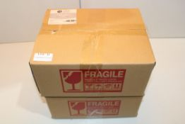 2X BOXED 12PIECE OAK & STEEL ENGLAND SPICE JARS Condition Report Appraisal Available on Request- All