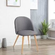 BOXED AISLIN UPHOLSTERED DINING CHAIR RRP £72.99 (POSSIBILITY THAT THE IMAGE IS INCORRECT - BUYER
