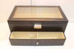 BOXED MEDIUM JEWELLERY/WATCH CASE Condition Report Appraisal Available on Request- All Items are