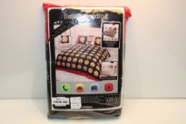 BAGGED SMART BEDDING DOUBLE DUVET SET Condition ReportAppraisal Available on Request- All Items