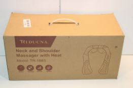 BOXED REDUCNA NECK AND SHOULDER MASSAGER WITH HEAT MODEL: TR-188S RRP £49.00Condition