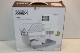 BOXED JOSEPH JOSEPH Y-RACK 2-TIER SELF DRAINING DISHRACK Condition ReportAppraisal Available on