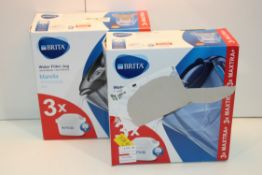 2X BOXED B RITA MARELLA WATER FILTER JUGS COMBINED RRP £59.98Condition ReportAppraisal Available
