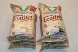 4X GREENSHIELD CONDITIONING LEATHER SURFACE WIPES Condition ReportAppraisal Available on Request-