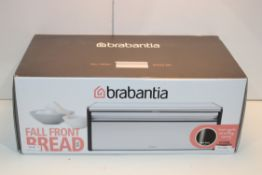 BOXED BRABANTIA FALL FRONT BREAD BIN RRP £29.99Condition ReportAppraisal Available on Request- All