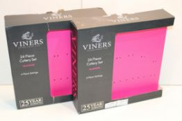 2X BOXED VINERS CUTLERY SETS Condition ReportAppraisal Available on Request- All Items are