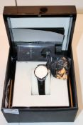 BOXED ORNAKE WRIST WATCH WITH WOODEN DISPLAY CASE RRP £349.00Condition ReportAppraisal Available