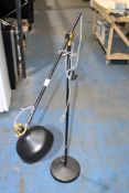 TALL FREE STANDING BLACK LAMP RRP £69.00Condition ReportAppraisal Available on Request- All Items