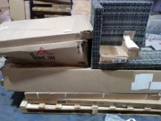 ONE PALLET OF PART LOTS NO ITEMS ON THIS PALLET ARE A FULL SET (WILL NEED OVERSZIED PALLET