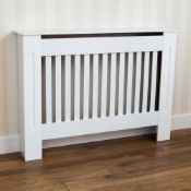 BOXED CHELSEA RADIATOR COVER SMALL IN WHITE RRP £30Condition ReportAppraisal Available on Request-