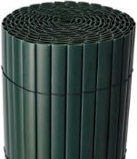 BOXED PVC FENCE IN GREEN 100X300CM RRP £29.99Condition ReportAppraisal Available on Request- All