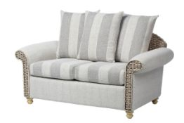 UNBOXED Alison Scatter Back 2 Seater Conservatory Loveseat RRP £890 (WILL NEED PALLET DELIVERY OR