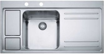 Boxed Brand New Factory Sealed Franke Sink- Model- LAX 211-W-36 1000x520mm, RRP-£800.00